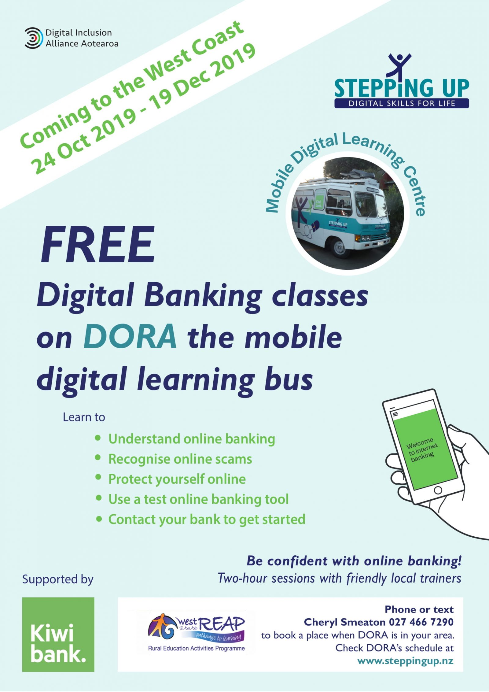 FREE digital banking classes