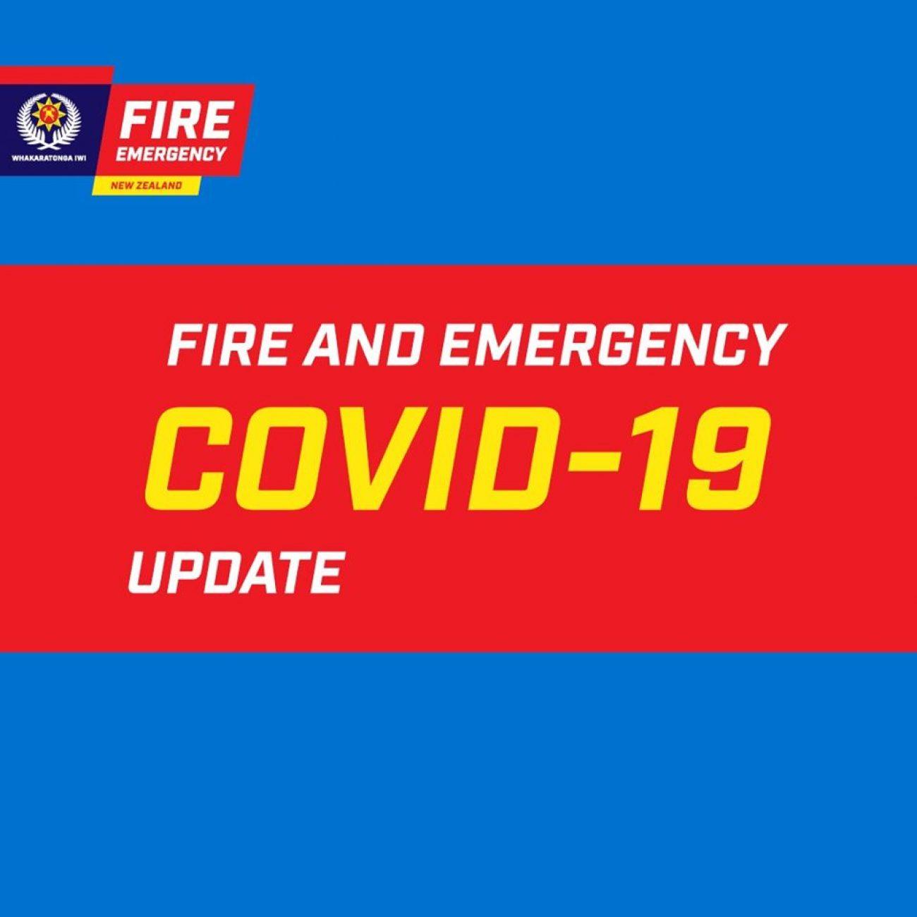 Message from Fire & Emergency NZ