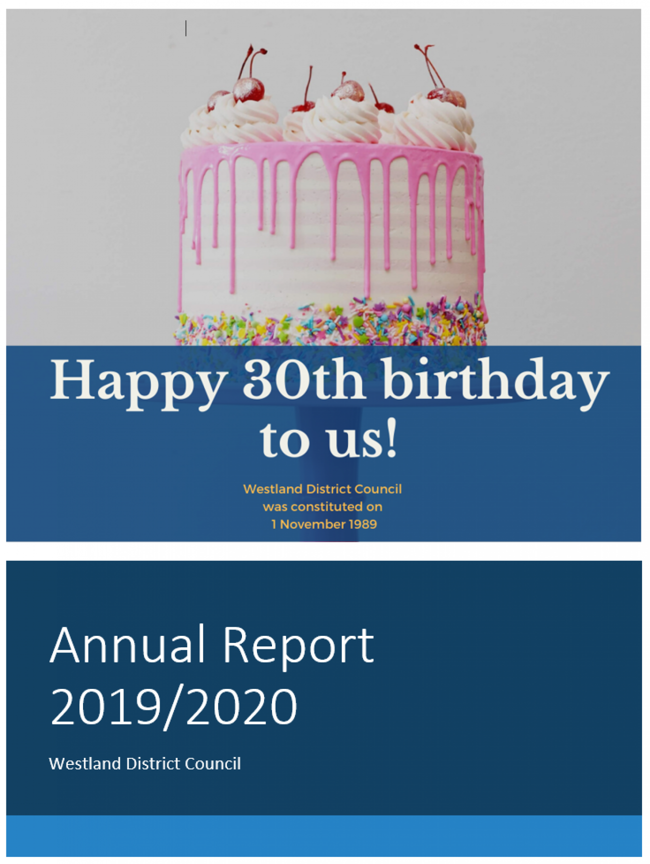 Annual Report 2019/2020 Adopted