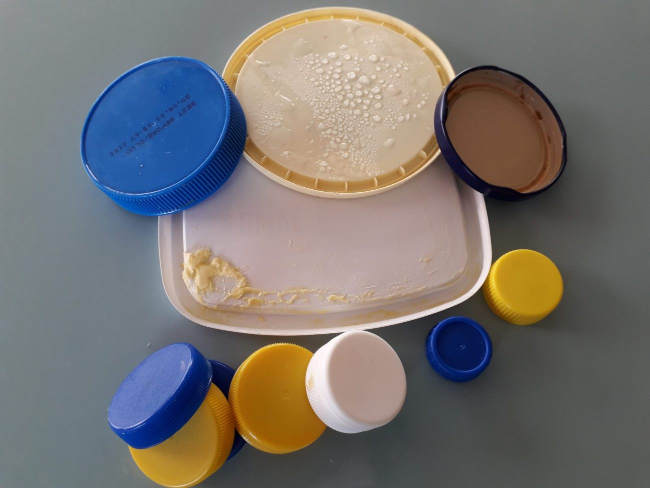 Recycling Lids and Containers