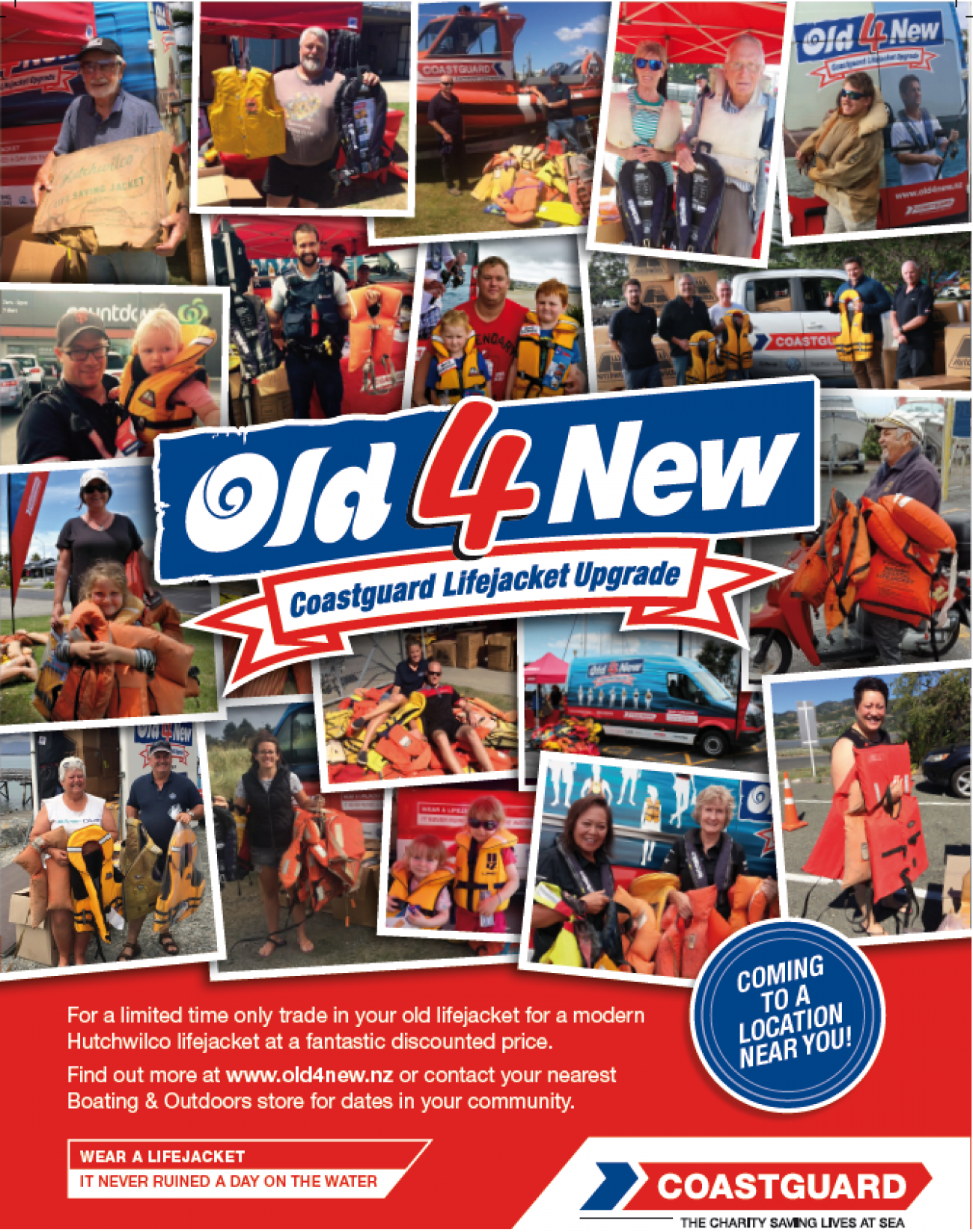 Old4New Lifejackets is back