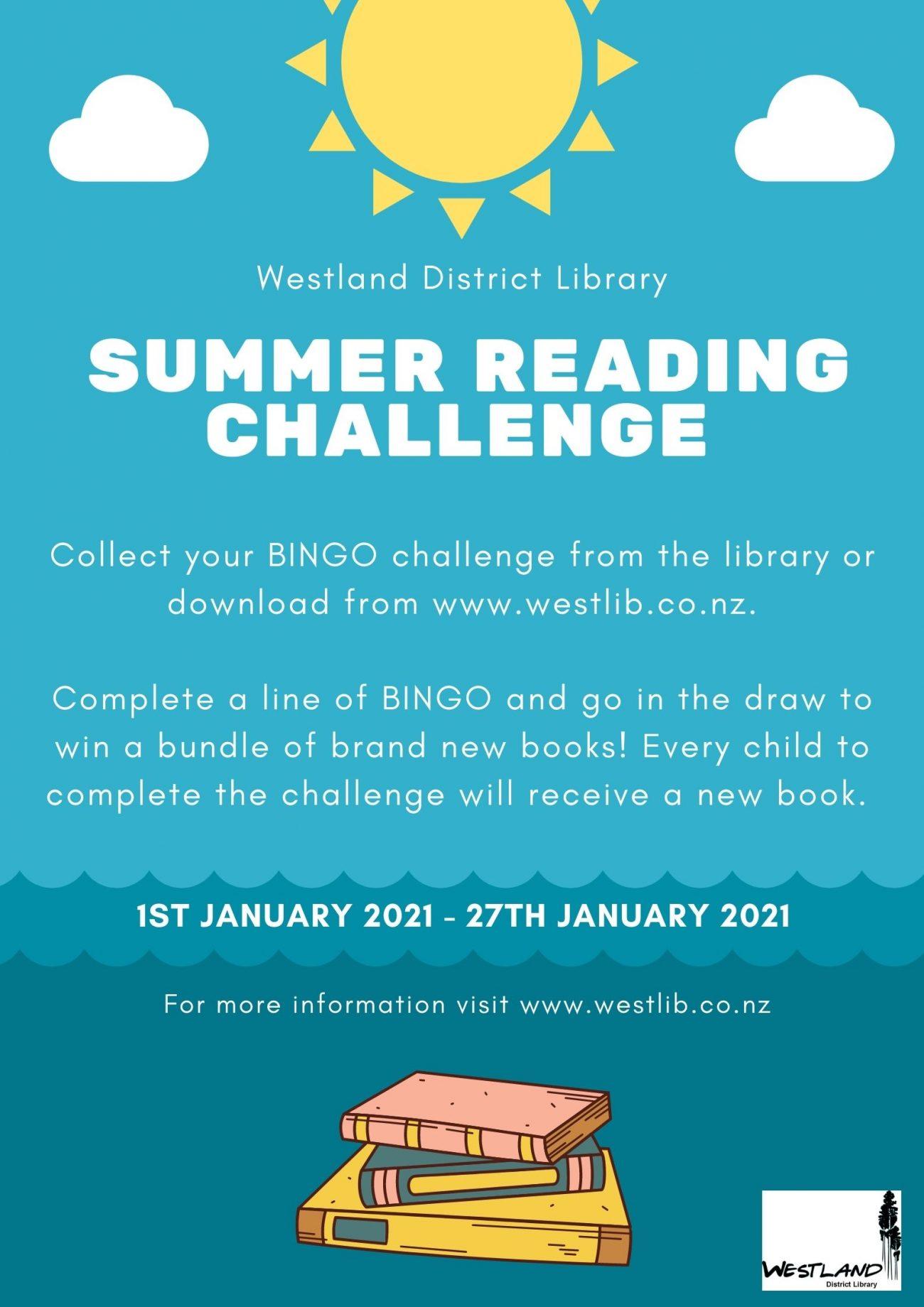 2021 Summer Reading Challenge