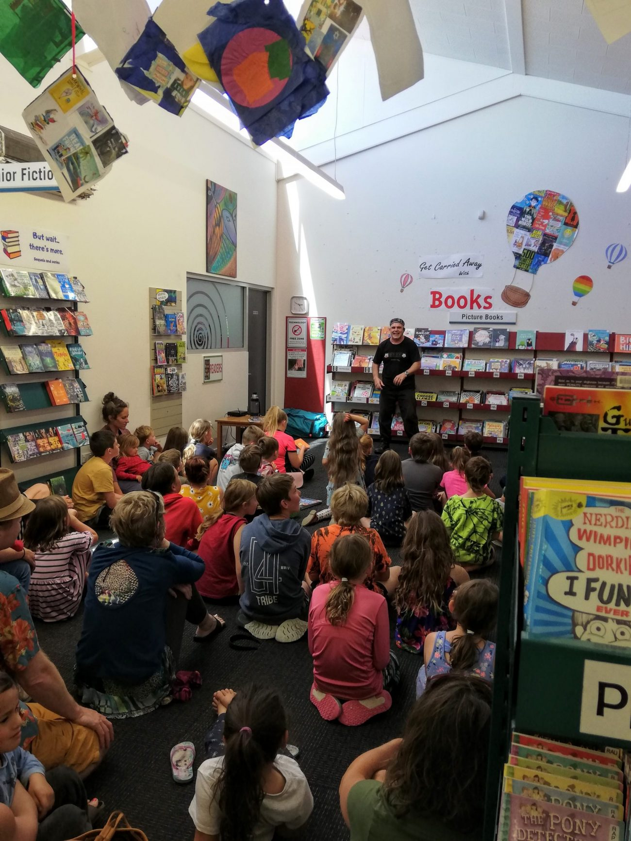 School Holiday Fun at the Library
