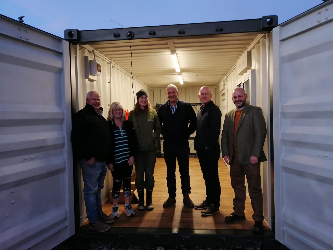 Civil Defence Emergency Containers arrive in Haast