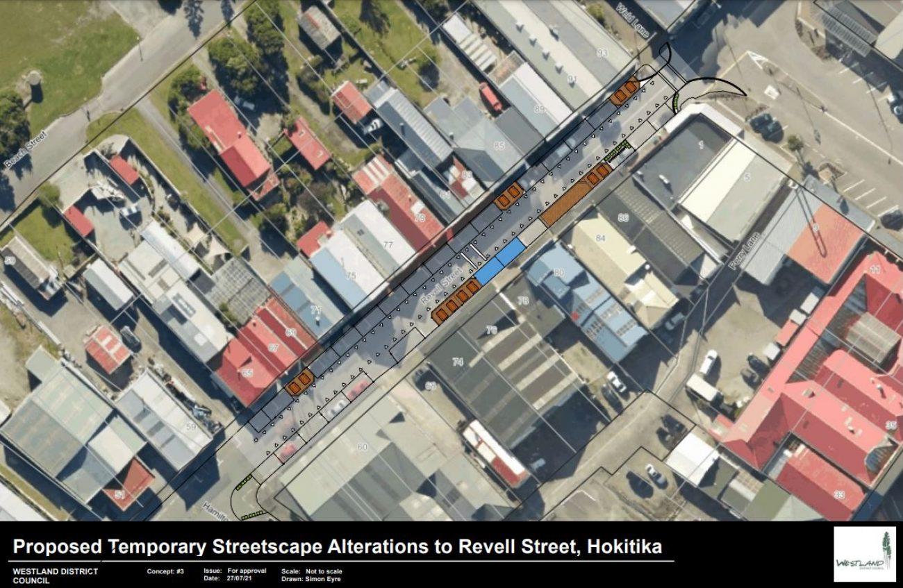 Progress on Revell Street one-way trial